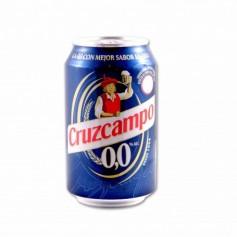Cruzcampo Cerveza 0,0 - 33cl