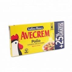 Gallina Blanca Avecrem Caldo de Pollo - (8 Unidades) -80g+ 25% Gratis