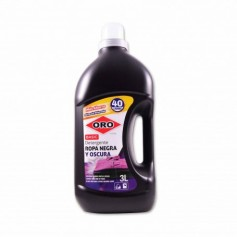 Oro Detergente Basic Ropa Negra y Oscura - 3L