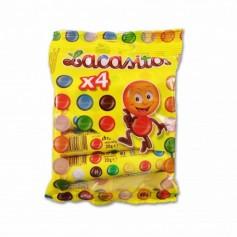 Lacasitos Grageas de Chocolate con Leche Recubierta con Azúcar Coloreado - (4 Unidades) - 80g