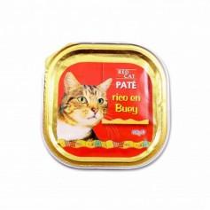 Red Cat Paté Rico en Buey Completo para Gatos - 100g