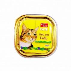 Red Cat Paté Rico en Pollo Completo para Gatos- 100g