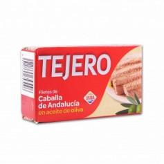 Tejero Filete de Caballa de Andalucía en Aceite de Oliva - 120g