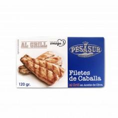 Pesasur Filetes de Caballa al Grill en Aceite de Oliva - 120g