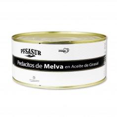 Pesasur Pedacitos de Melva en Aceite de Girasol - 1000g
