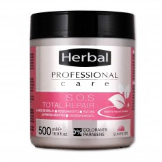 Herbal Professional Care Mascarilla S.O.S. Reparación Total con Aceite de Jojoba y Fitoceramidas - 500ml