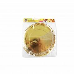 Best Products Bandeja Redonda con Blonda Oro- (1 Unidad)