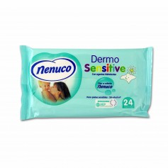 Nenuco Toallitas Infantiles Dermo Sensitive - (24 Unidades)