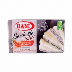 Dani Sardinillas en Aceite de Girasol Picante - 90g