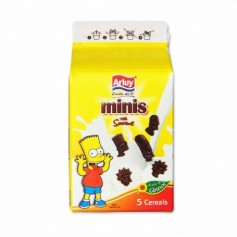 Arluy Galletas Minis con Sabor a Chocolate The Simpsons - 135g