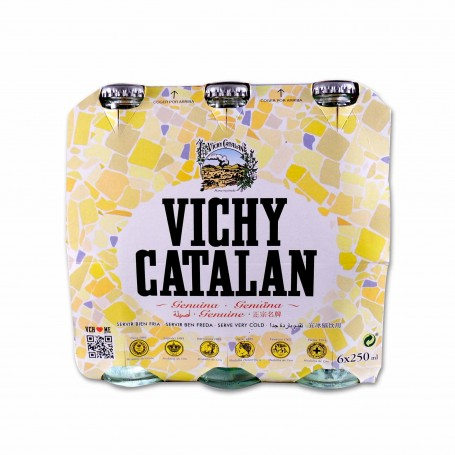 Vichy Catalan Agua Mineral Natural con Gas - (6 Unidades) - 1500ml