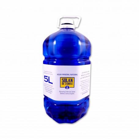 Solán de Cabras Agua Mineral Natural - 5L